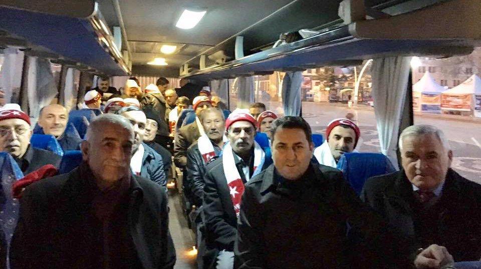 TOKAT MUHTARLARI'NDAN KAYSERİYE ANLAMLI ZİYARET