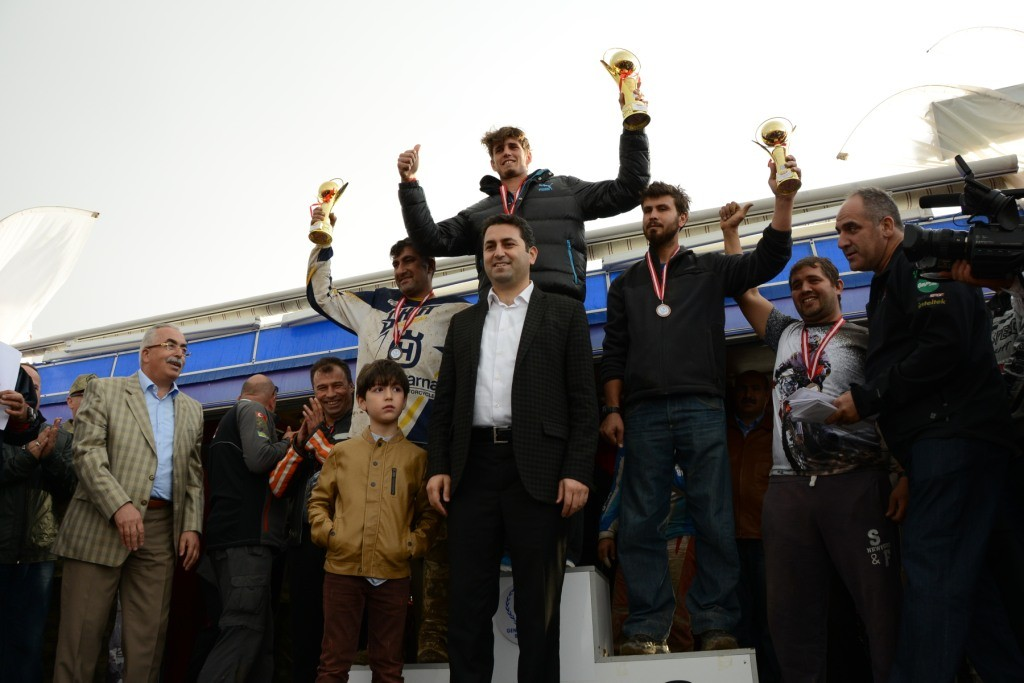TÜRKİYE ENDURO ŞAMPİYONASI TOKAT'TA YAPILDI
