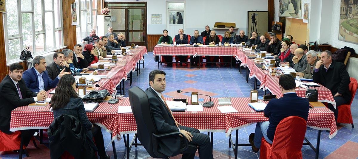 2015 Yılının İlk Meclis Toplantısı Yapıldı