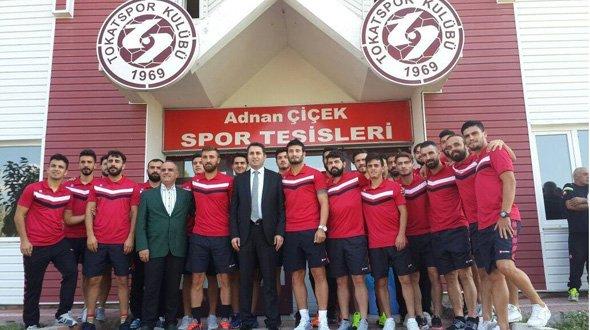 BAŞKAN EROĞLU'NDAN TOKATSPOR'A MORAL ZİYARETİ