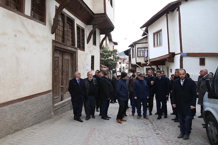BAŞKANLAR TOKAT'I GEZDİ