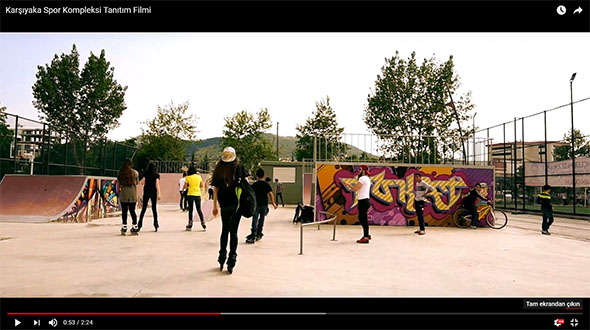 Karşıyaka Spor Kompleksi Tanıtım Filmi