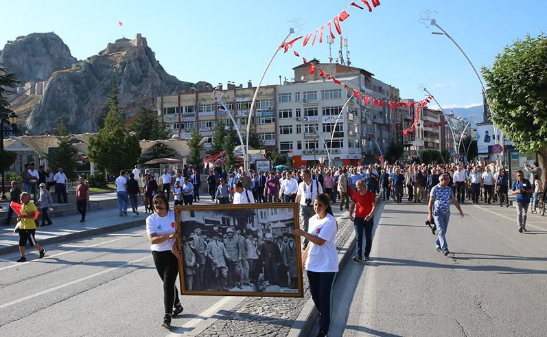 ATATÜRK'ÜN TOKAT'A GELİŞİNİN 100'ÜNCÜ YILI KUTLANDI