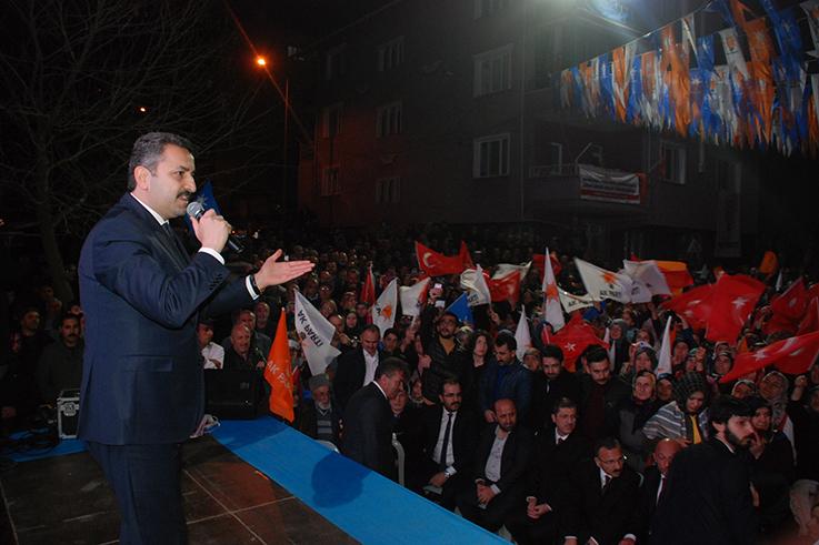 Başkan Eroğlu'na Coşkulu Karşılama