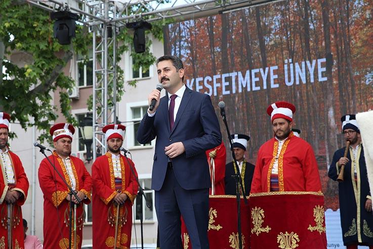 ÜNYE İLÇESİ TANITIM GÜNLERİ TOKAT'TA BAŞLADI