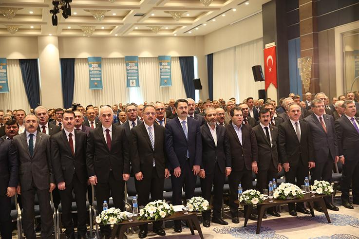"""AK BELEDİYELER 2019 YOLUNDA """"KARADENİZ BÖLGE TOPLANTISI"""" TOKAT'TA YAPILDI."""