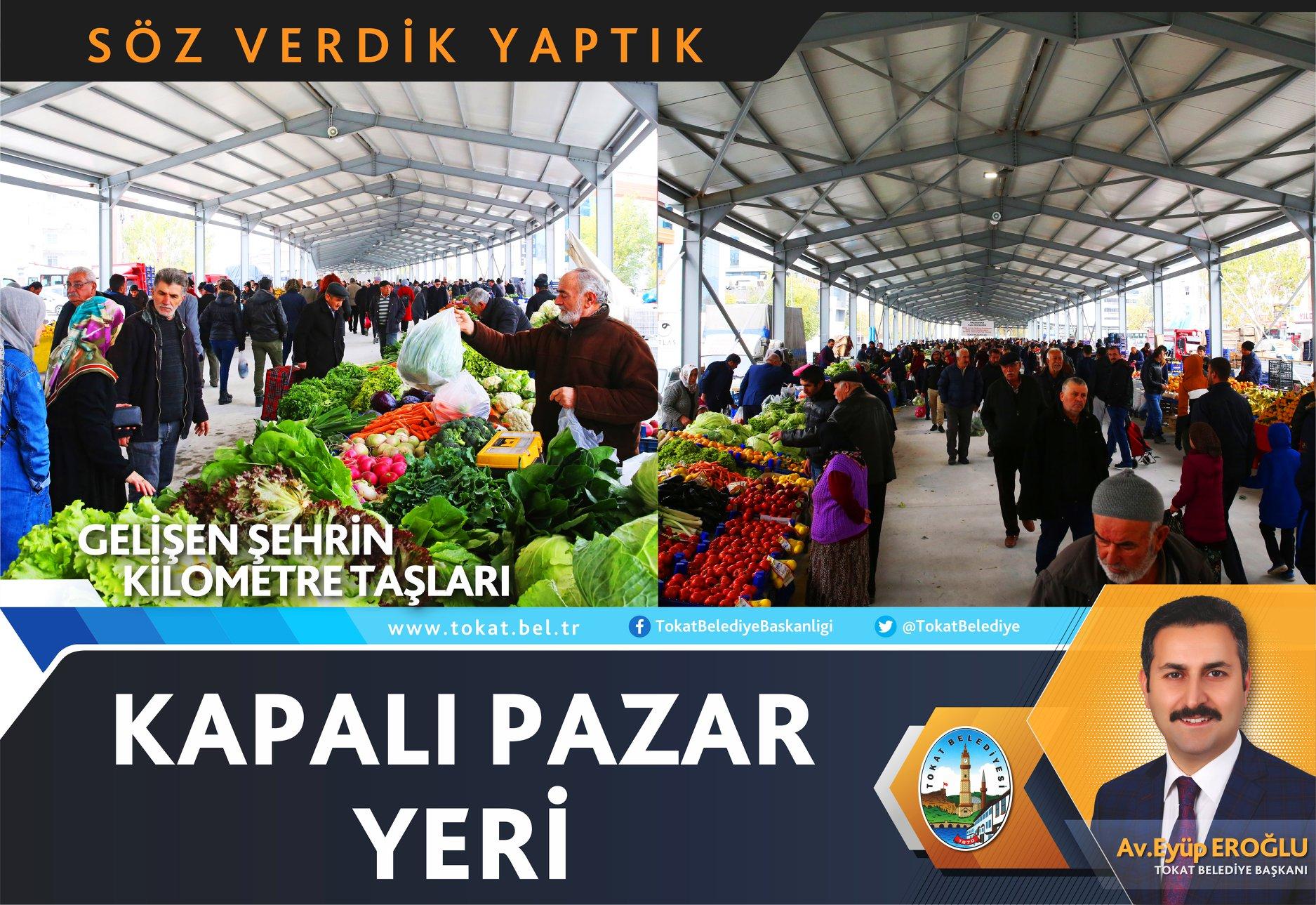 KAPALI PAZAR YERİ